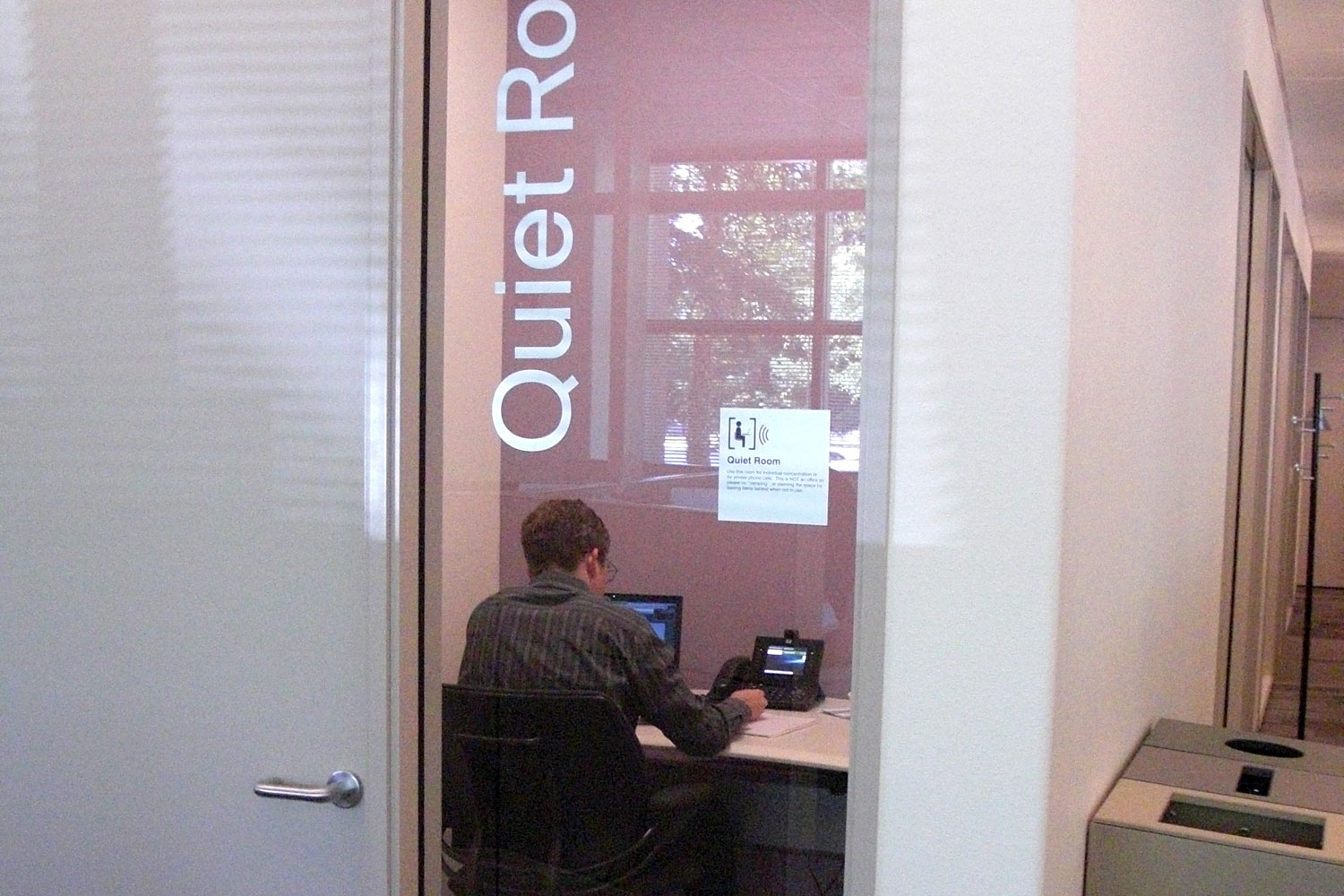 Quiet Room : Cisco Connected Workplace
